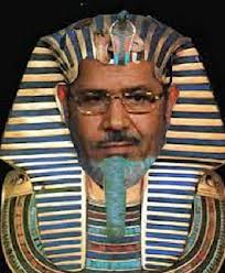 Pharaoh Ramses II - uh, we mean Egyptian President Muhammad Morsi.
